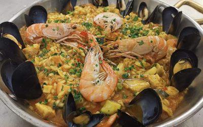 Paella, pinzimonio & sangria (giovedì su prenotazione)